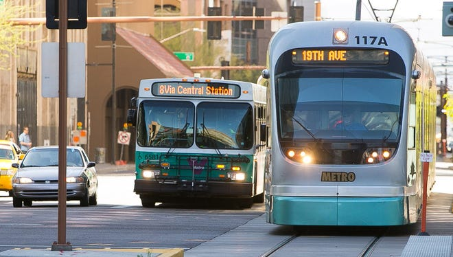 Valley Metro is offering free rides on New Year's Eve.