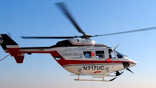AirCare was called to a crash in Butler County Wednesday morning.
