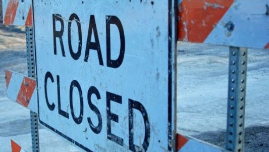 Several streets in downtown Lansing will be restricted or closed to traffic this evening to accommodate the Lansing Color Run Night.
