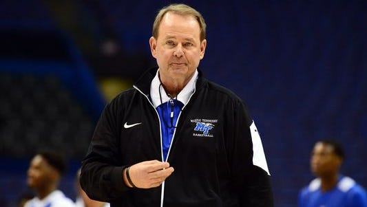 Coach Kermit Davis is pleased that his Middle Tennessee State basketball team is No. 6 in the RPI and was able to carry over the momentum it gained by beating Michigan State in the NCAA Tournament last season.