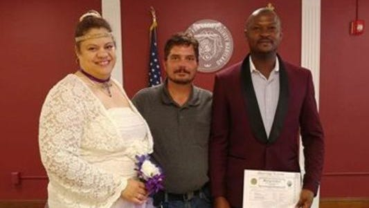 David Scullion, an Uber driver from Bear, Delaware, drove a stranded Philadelphia couple to their wedding in Elkton, Maryland free of charge. (Photo: Submitted: Courtesy of David Scullion)