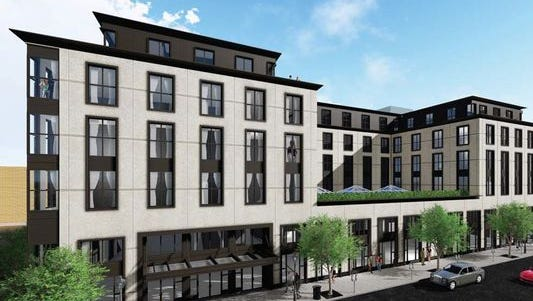 A new ordinance in Birmingham will help hotels in B-4 zoning, such as the Daxton Hotel, a new development taking shape at Brown and South Old Woodward, to obtain a liquor license.