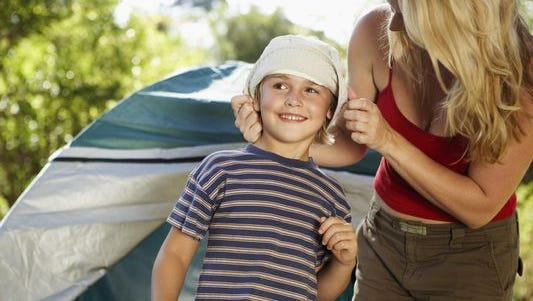 Kids learn about outdoor survival during Outdoorsy Week Aug 6 to 9.