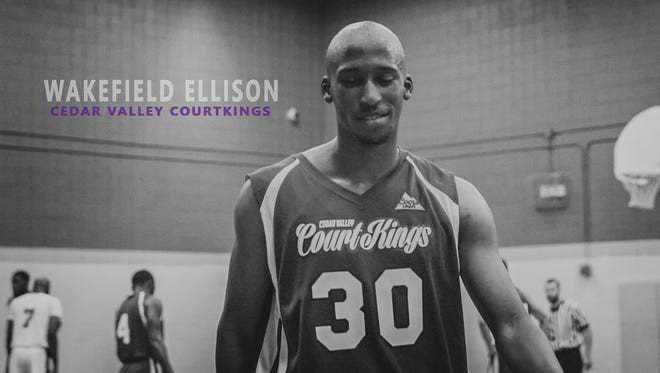Asheville High alum Wakefield Ellison currently plays pro basketball for the Cedar Valley (Iowa) CourtKings.