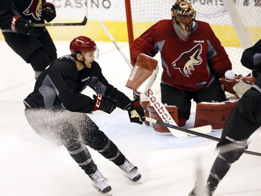 Coyotes training camp