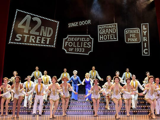 "The Tony-award winning musical ""42nd Street"" will be performed 8 p.m. March 4 at The Strand Theatre."