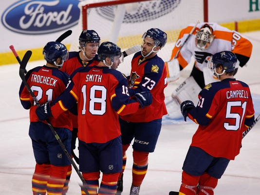 USP NHL: PHILADELPHIA FLYERS AT FLORIDA PANTHERS S HKN USA FL