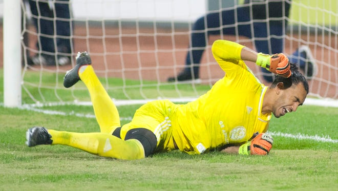 Goalkeeper Gregory Ranjitsingh and Louisville City FC dropped their first game in nine matches on Wednesday.