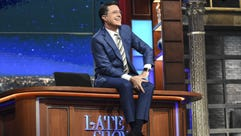 'The Late Show With Stephen Colbert' will broadcast