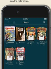 A screenshot for the app Comic Zeal.