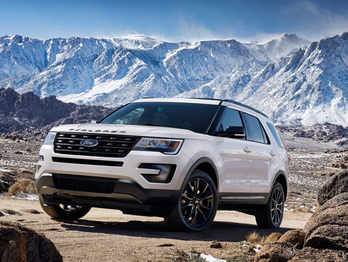 Ford is introducing the 2017 Ford Explorer XLT Sport