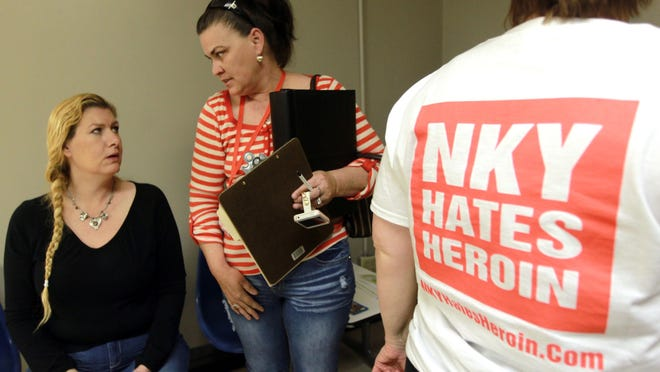 Kimberly Wright (right), of Cold Spring The Enquirer/Patrick Reddy