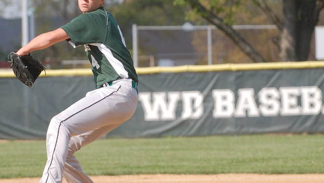 Derek Wakely picked up the win for West Deptford, scattering five hits in 4 2/3 innings of work.