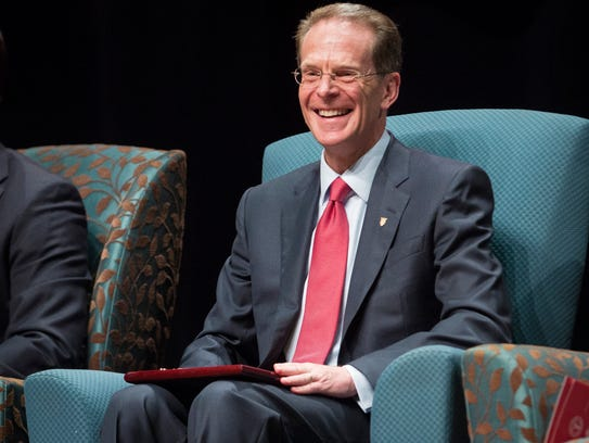 Ball State President Geoffrey S. Mearns is officially