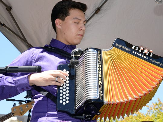 Texas Folklife Big Squeeze accordion competition will be from 2-4 p.m. Sunday, Feb. 12, at the McDonald Public Library, 4044 Greenwood Drive.