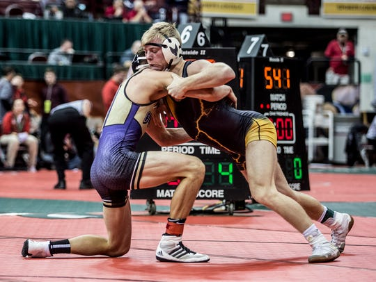Northmor's Conan Becker will leave the state wrestling as a three-time medalist.