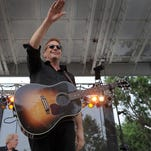 Kevin Costner & Modern West played the Indiana State Fair on Aug. 8.