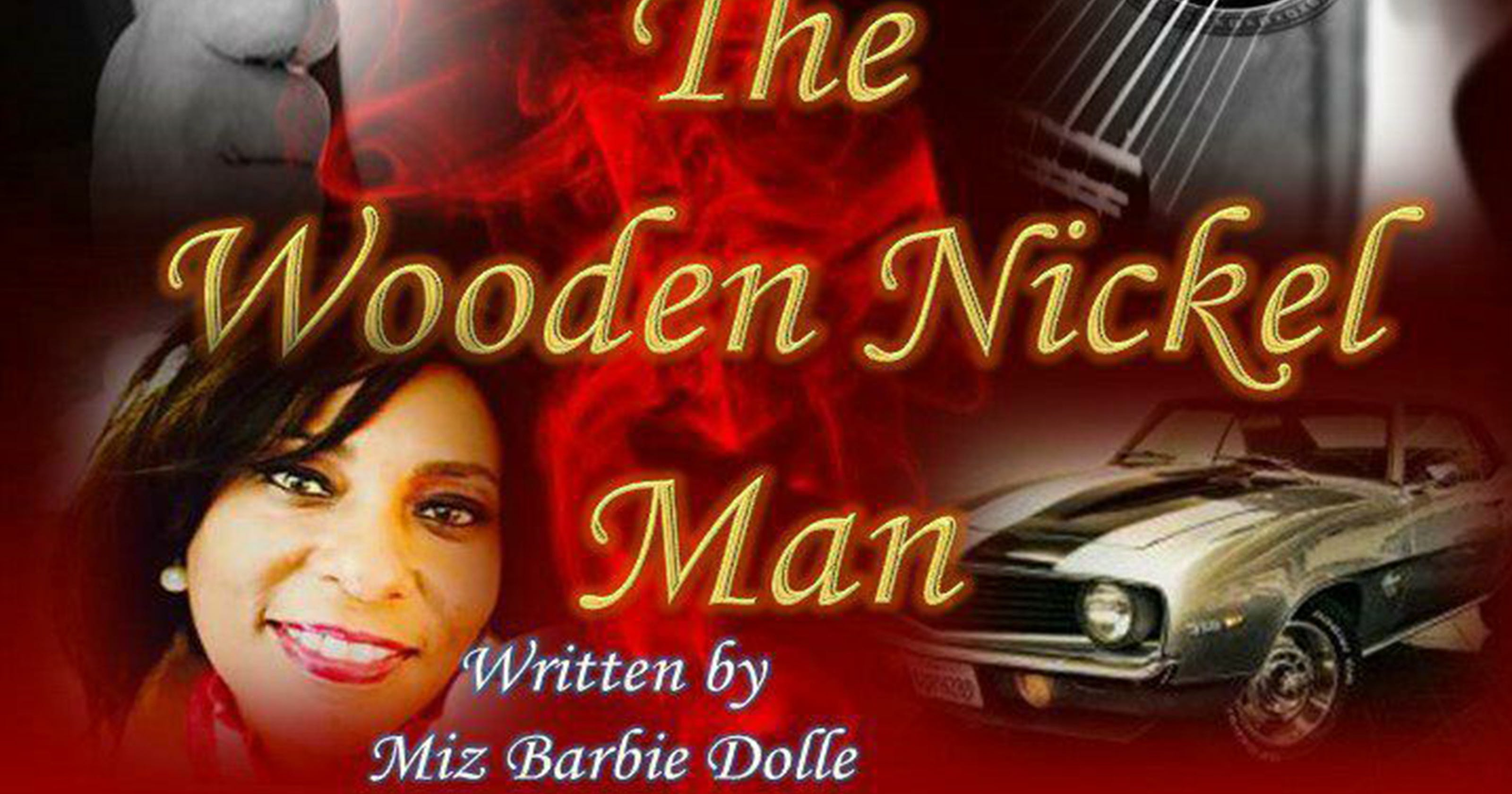 Wooden Nickel Man Has Theater Blues And Black Elvis