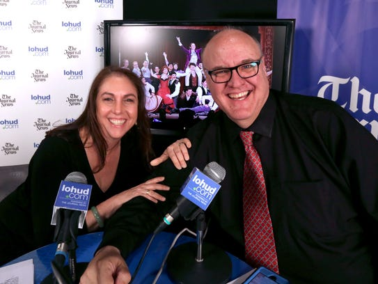 Producer Danielle Rudess and lohud's Peter D. Kramer