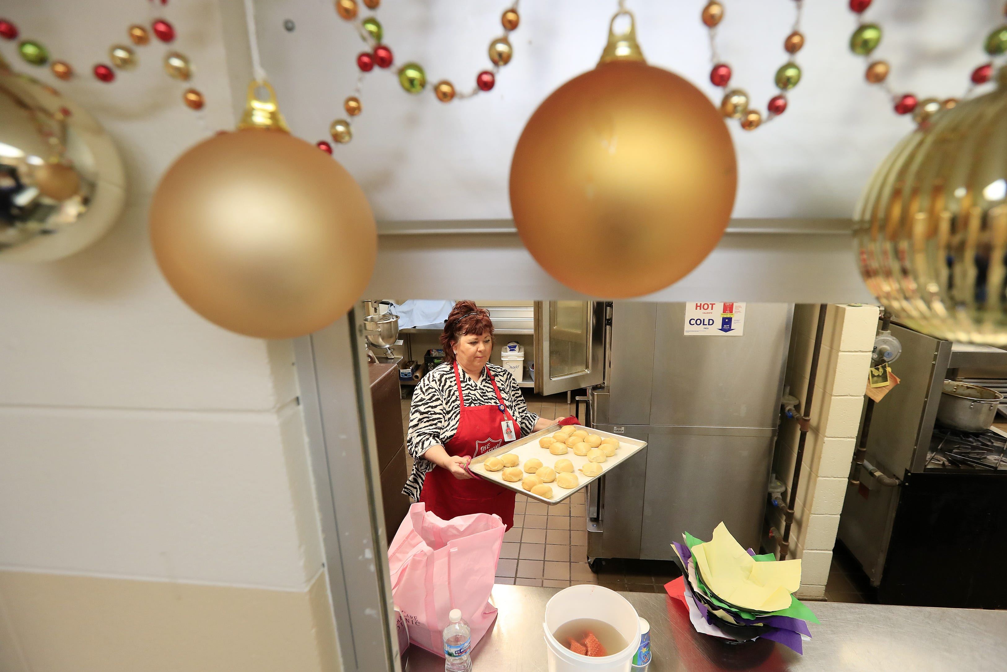 Once homeless Barbara Bonifas helps others at Salvation Army