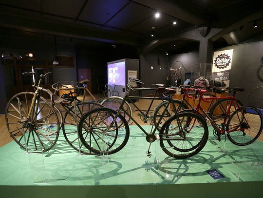A variety of bicycles made or designed in Wisconsin