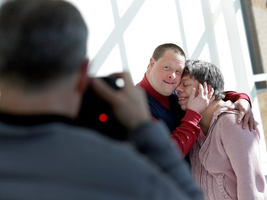 Photographer Rick Guidotti photographs Andy and Beth