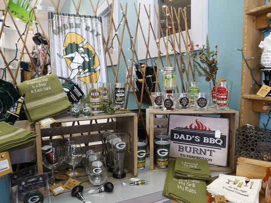 A dad's gift display at Ivy Trails in Manitowoc. Local