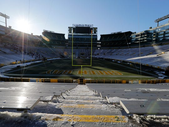Lambeau Field would be a great setting for high school football state championship games.