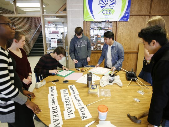 Lincoln's International Baccalaureate students work