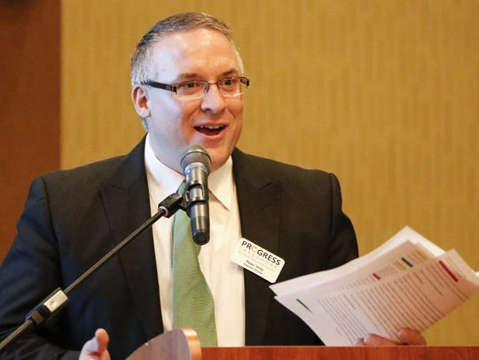 In this file photo, Peter Wills, executive director