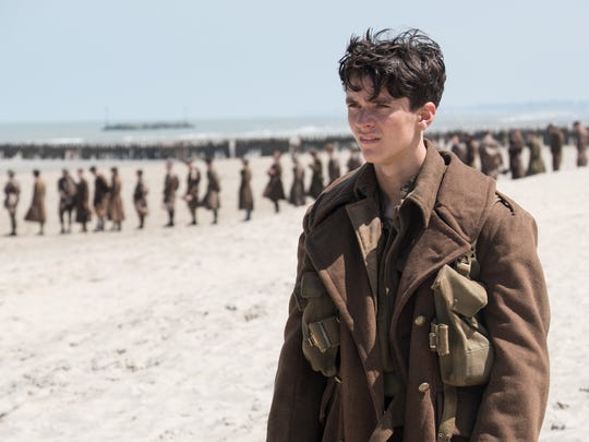 "Fionn Whitehead plays a British private in Christopher Nolan's World War II movie ""Dunkirk."""