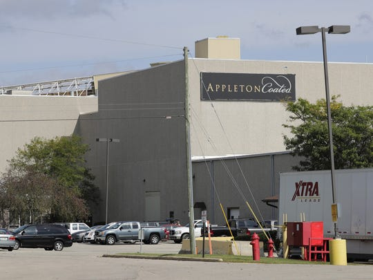 """""""For over 100 years, Appleton Coated has provided our county and surrounding area with good paying, family supporting jobs,"""" said Tom  Nelson, county executive, and John Neumeier, village president"""