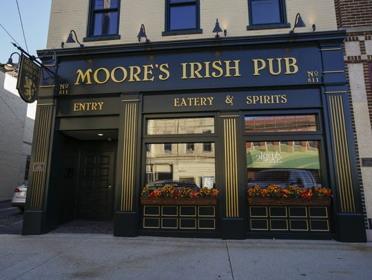 Moore's Irish Pub recently opened downtown, shown here