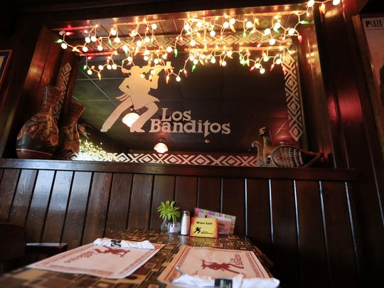 Los Banditos East is known for its cozy interior. Back