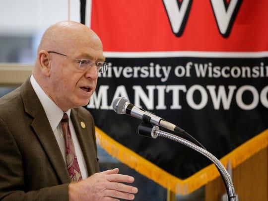 University of Wisconsin System President Dr. Ray Cross