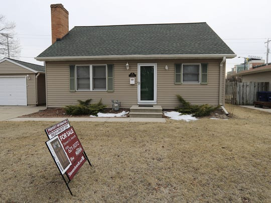 A house for sale is shown at 1173 Shadow Lane on Tuesday,
