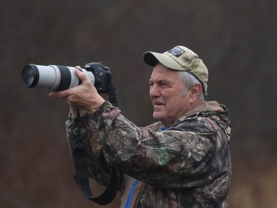 Dennis Money, President of Seneca White Deer, takes
