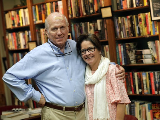 Owner Thomas. A. Lyons  and his daughter Meredith Lyons are relocating Thomas A. Lyons Fine Books later this summer in downtown Neenah. Meredith is the manager of the store.