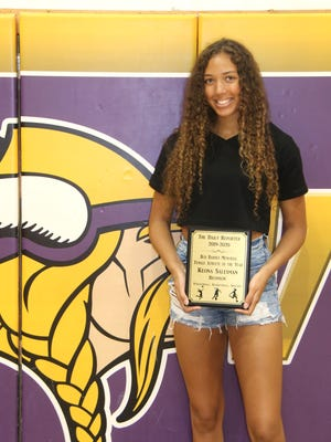 Bronson's Keona Salesman has been named the 2019-20 The Daily Reporter Bud Barnes Memorial Female Athlete of the Year.