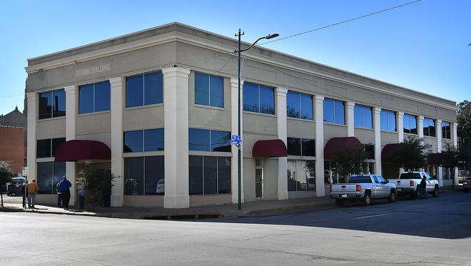 The Brown Building at 901 Ninth Street. Anthony Patterson was approved for 4B funds for a fire suppression system in a 10-unit upscale apartments project at the building. It is expected to be complete by September.