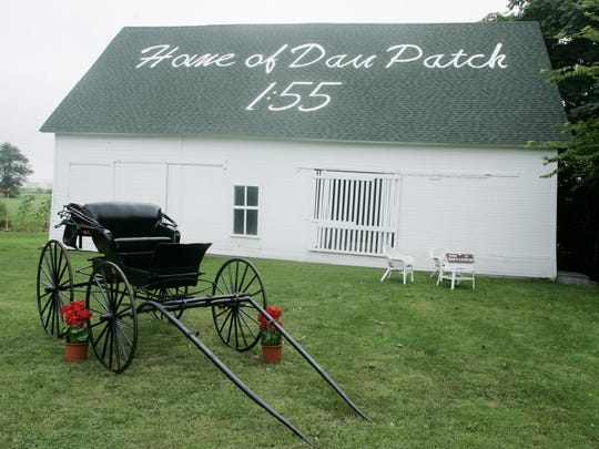 This barn in Oxford was the home of Dan Patch, a world