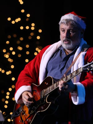 Santa? No it's Bobby Bandiera, shown performing at last year's Hope Concert at the Count Basie Theatre in Red Bank.