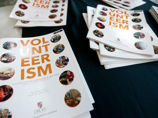 The results of a new study examining volunteerism in