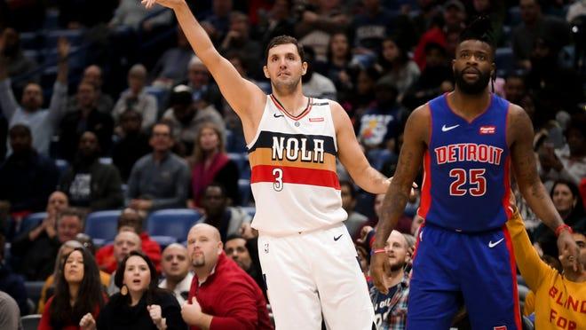 Nikola Mirotic is having his best season in the NBA, averaging 16.7 points per game.