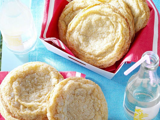 Giant Lemon Sugar Cookies are an oversized summer treat perfect for capping off a picnic. For more Taste of Home recipes, or to submit your own to the magazine, visit www.tasteofhome.com.