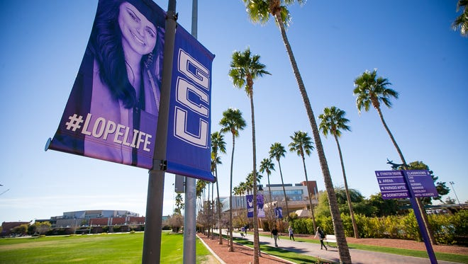 Arizona lawmakers are again seeking a big property tax break for Grand Canyon University in Phoenix.