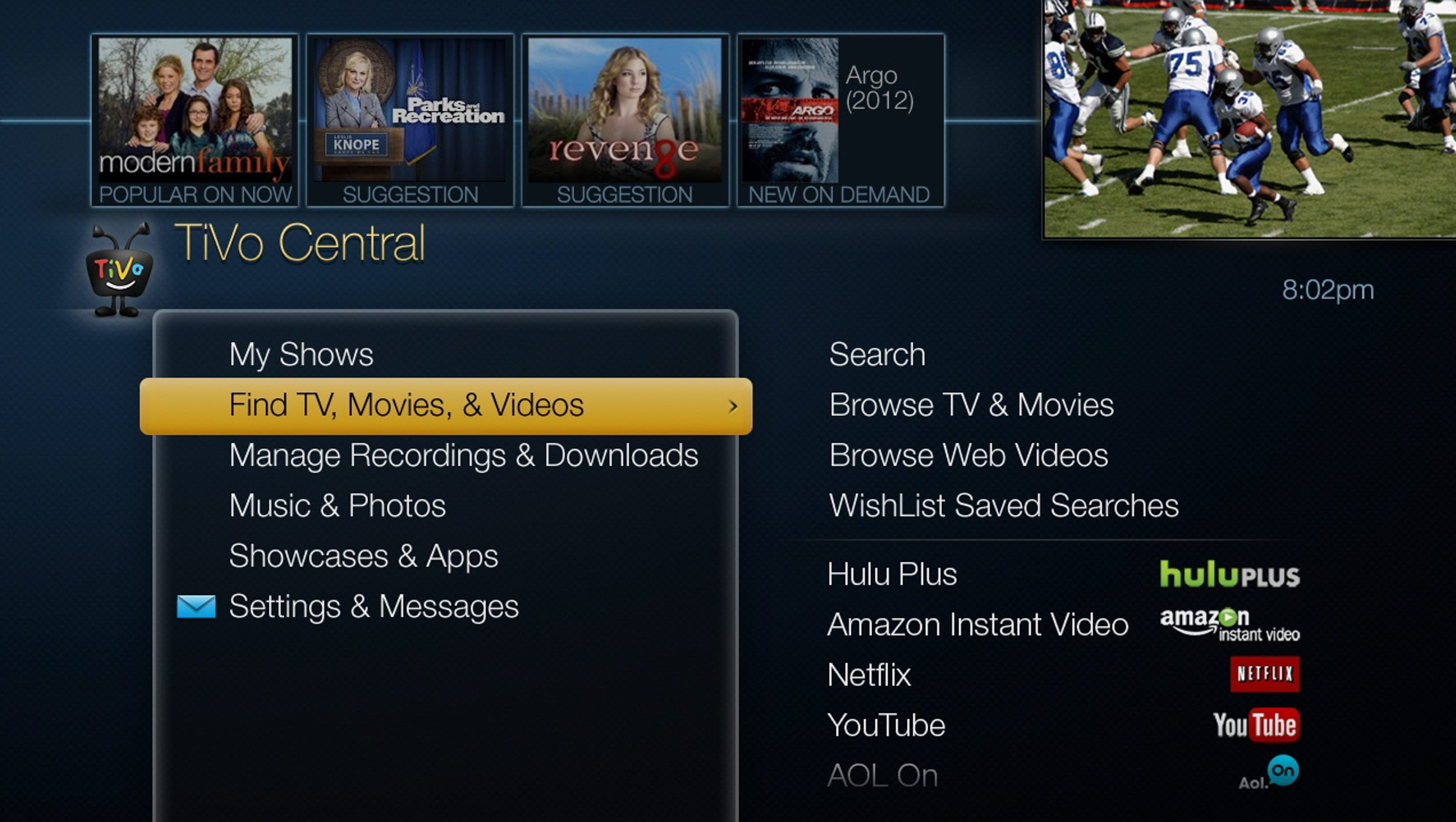 how to set up tech view dvr to send emails
