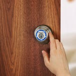Kwikset.com's Kevo locks and unlocks while your smartphone remains in your purse or pocket. Send eKeys to others through the Kevo app, and delete them at any time.