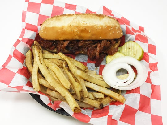 You can get burnt ends in a sandwich.