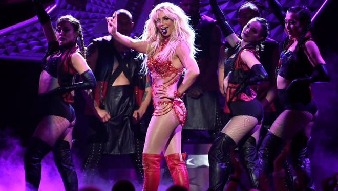 "Britney Spears' latest album ""Glory"" is out Friday."